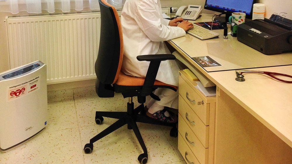 Čistička Winix v ordinaci alergologa