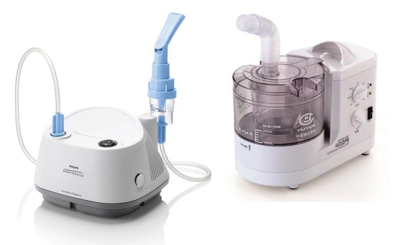 Inhalátory Philips Respironics a Yuwell vhodné pro ošetřování průdušek