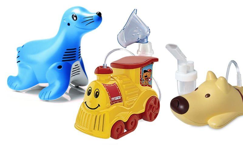 Inhalátory pro děti v dětském designu