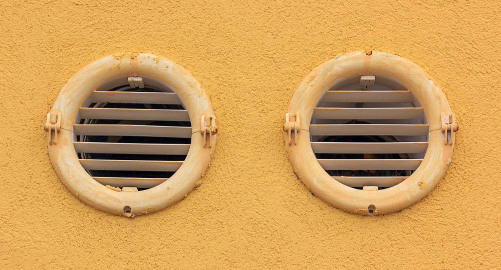 Průduchy ventilace a rekuperace