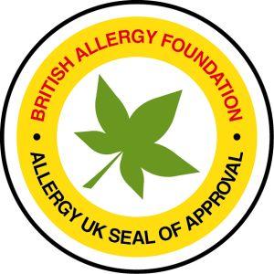 Logo Britské nadace pro alergii BAF