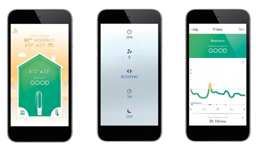 Mobilní aplikace Dyson